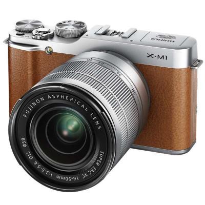 FUJIFILM 富士X-M1 数码微单相机套机 单镜套装(XC16-50mmF3.5-5.6 OIS)2999元包邮