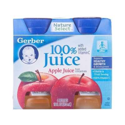 嘉宝 Gerber 苹果汁 118mLx4 ¥34