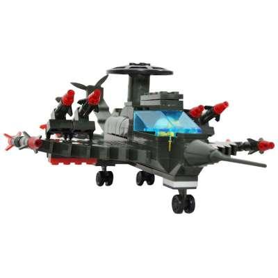 万格乐高式益智拼装积木 lego式战斗飞机194片 超级轰炸机 特惠价