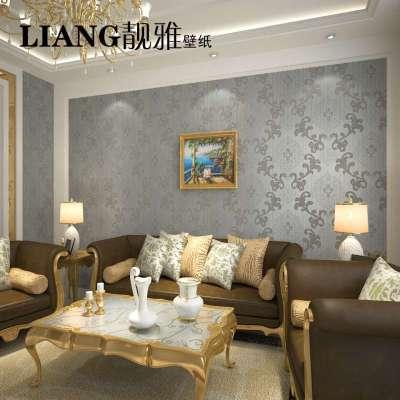 欧式大花卧室温馨客厅书房电视背景墙壁纸