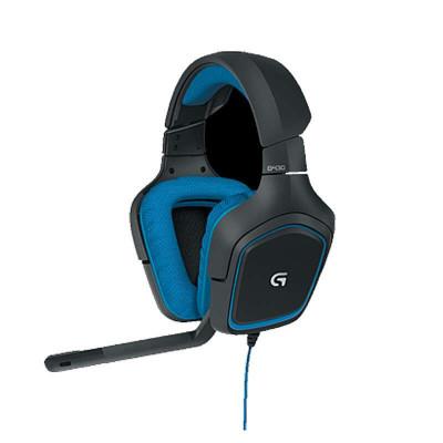 Logitech 罗技 G430 游戏头戴耳机(7.1+主动降噪)419元(满399-100 低至319元)