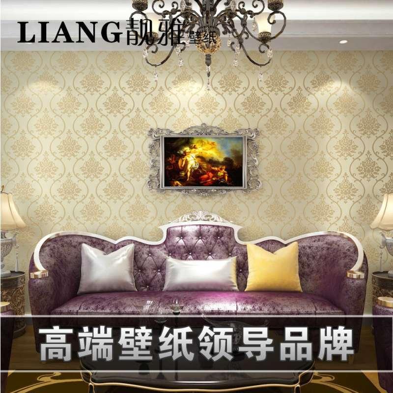 客厅卧室电视背景墙温馨简约欧式