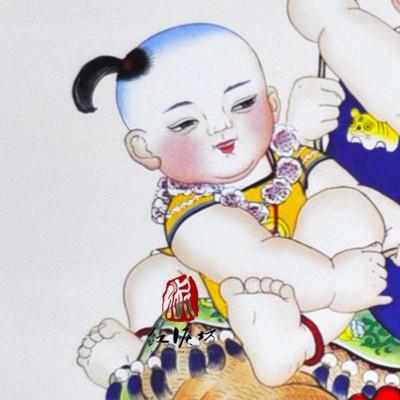 【红泥坊】杨柳青年画图片