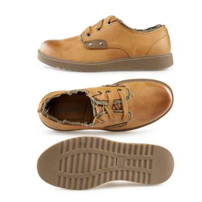 复古鞋子 男士真皮皮鞋