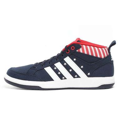09新款 adidas板鞋 高帮 阿迪达斯高帮 女鞋 g11036