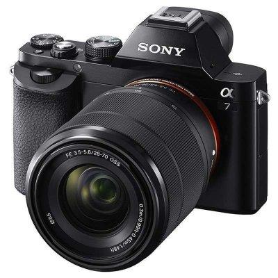 索尼(SONY) 微单相机 ILCE-7K (28-70mm) 黑色 ¥9018