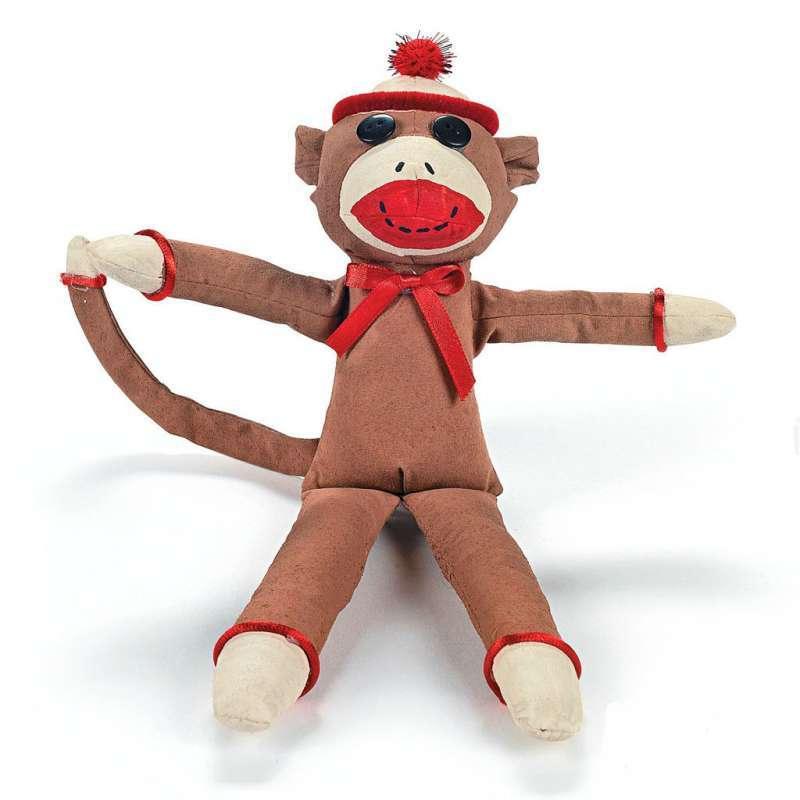 手工猴子步骤图