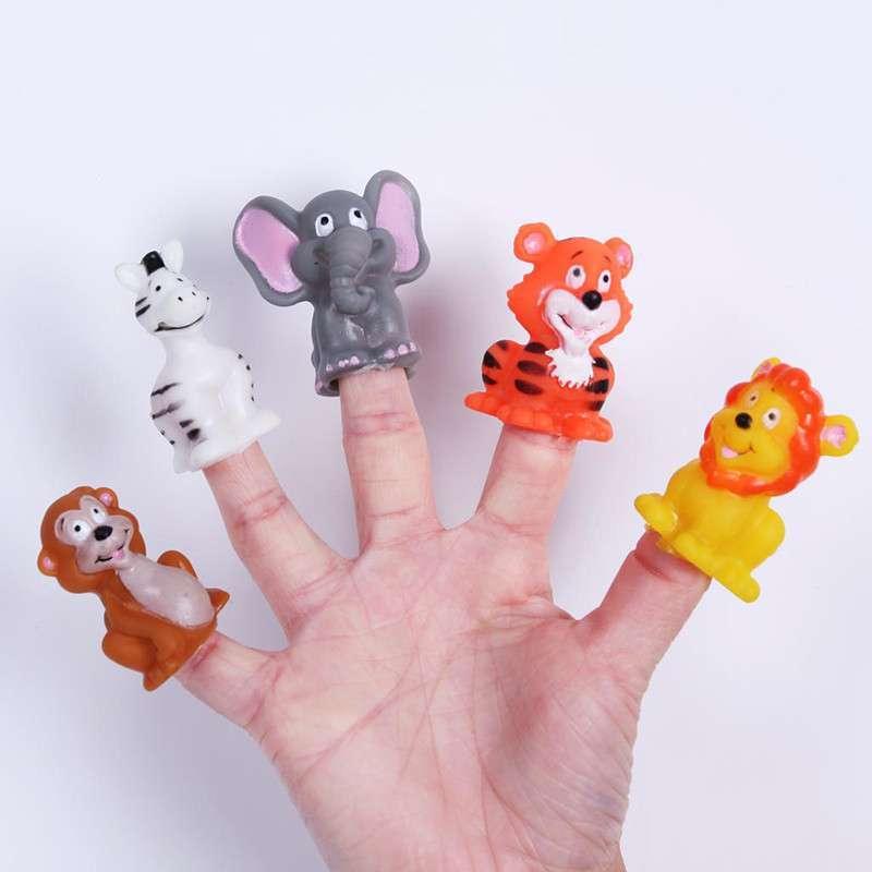 卡通可爱动物手偶