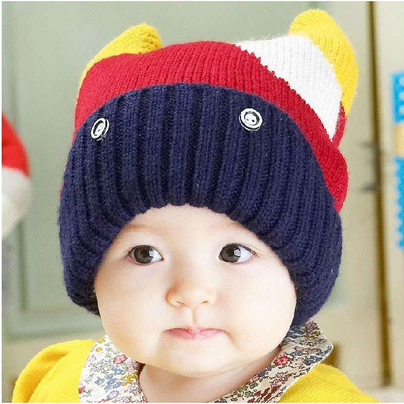 公主妈妈冬季新款童帽儿童毛线帽宝宝帽造型帽保温帽