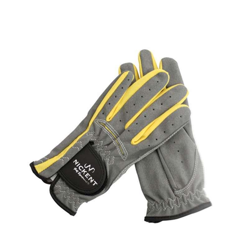 高尔夫手套 nickent 尼肯特 儿童款 布手套 双手