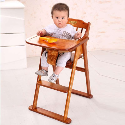 小硕士婴儿餐椅宝宝吃饭餐椅儿童餐椅座椅子实木可椅