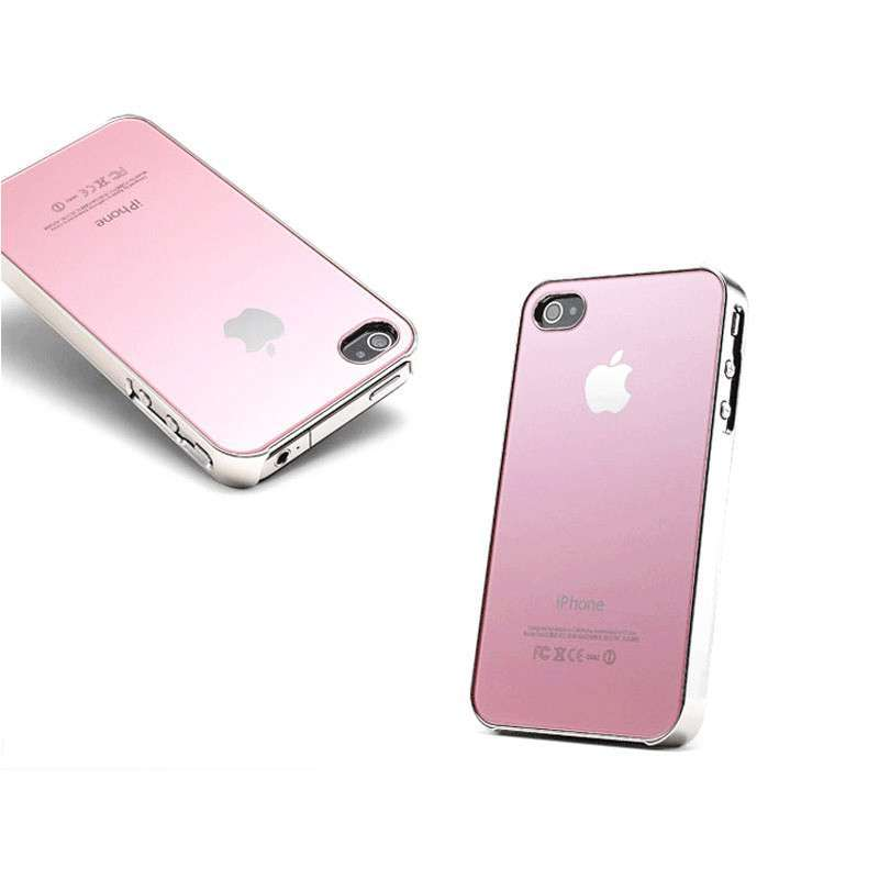 苹果手机4壳_苹果4s手机壳 ipone4手机壳 玻璃钢镜面防刮防摔iphone4代手机外壳