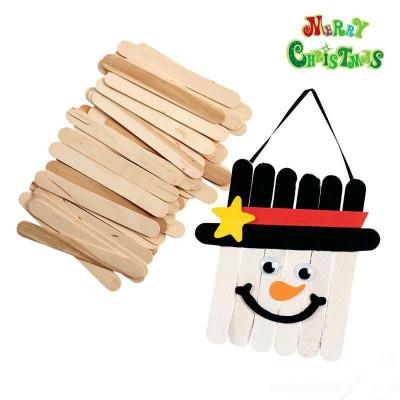 雪糕棒 棒冰棍棒 动手做 diy手工制作材料 玩具100根ex10129