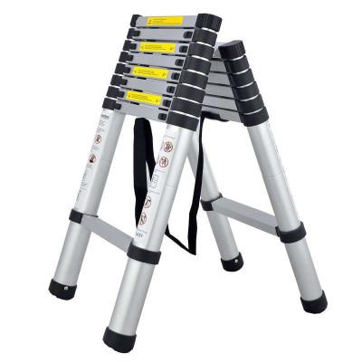 铝合金伸缩梯人字梯_铝合金梯子折叠梯伸缩梯人字梯家用梯关节