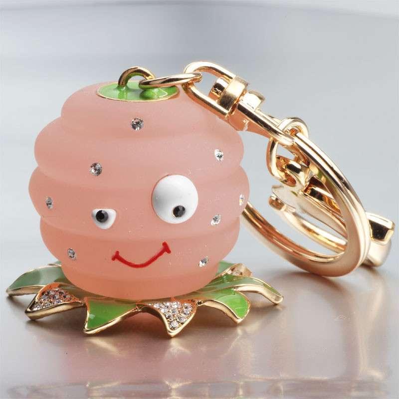 调皮可爱水母娃娃钥匙扣