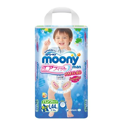 moony拉拉裤 男宝L44
