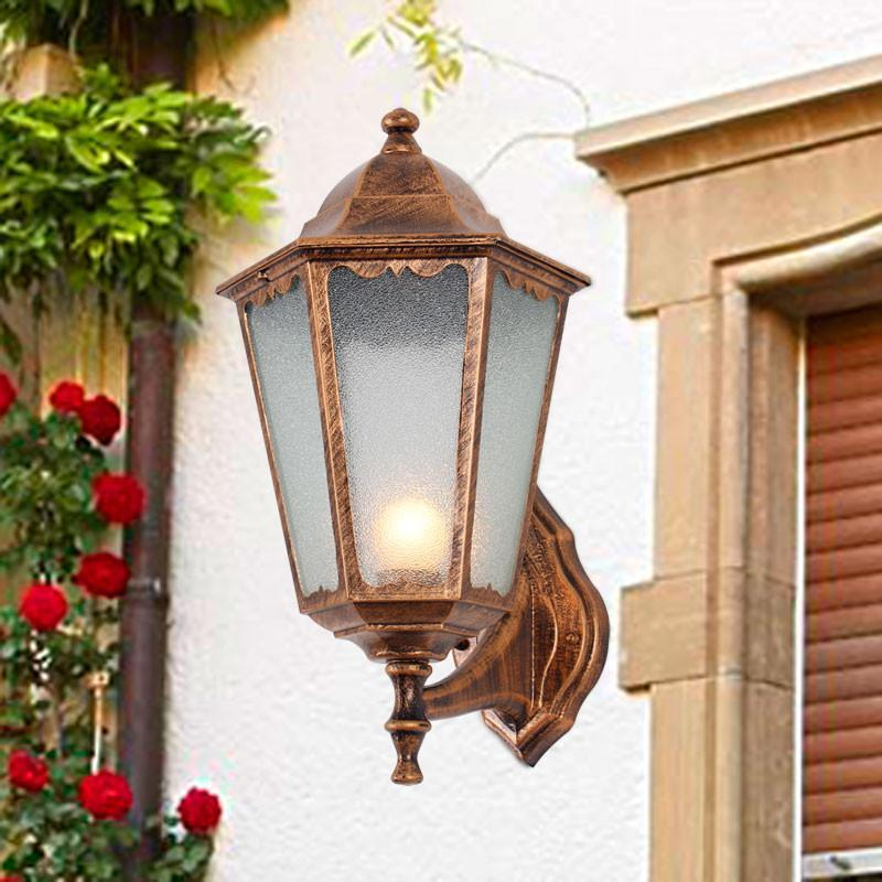 欧式花园别墅欧式户外灯壁灯复古城堡室外花园过道