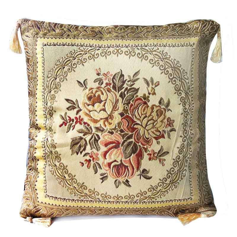 丝带绣 沙发靠枕靠垫抱枕