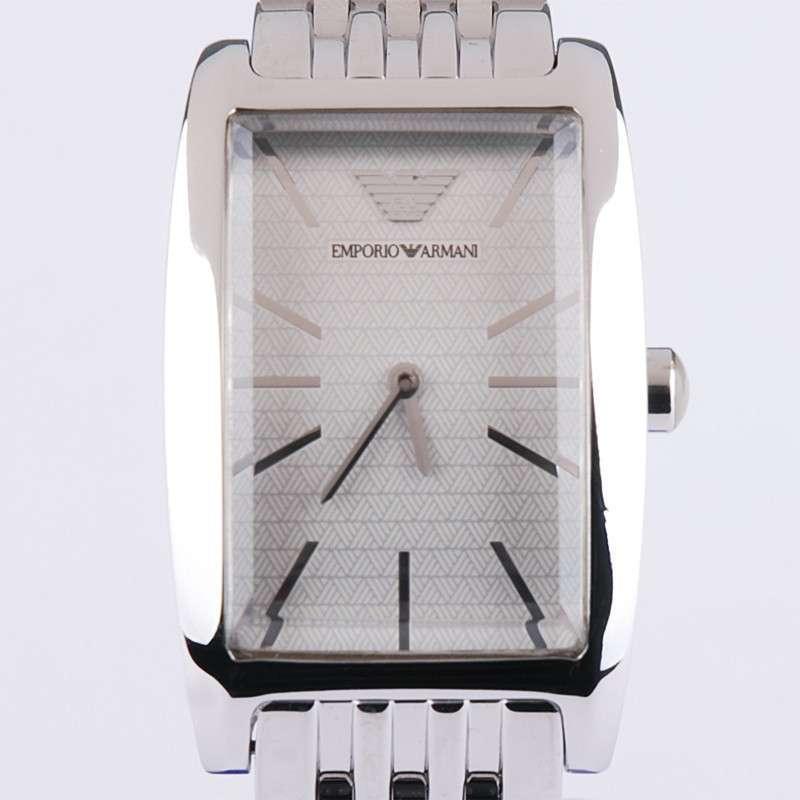armani阿玛尼女表 精钢方形表盘女士手表ar0730
