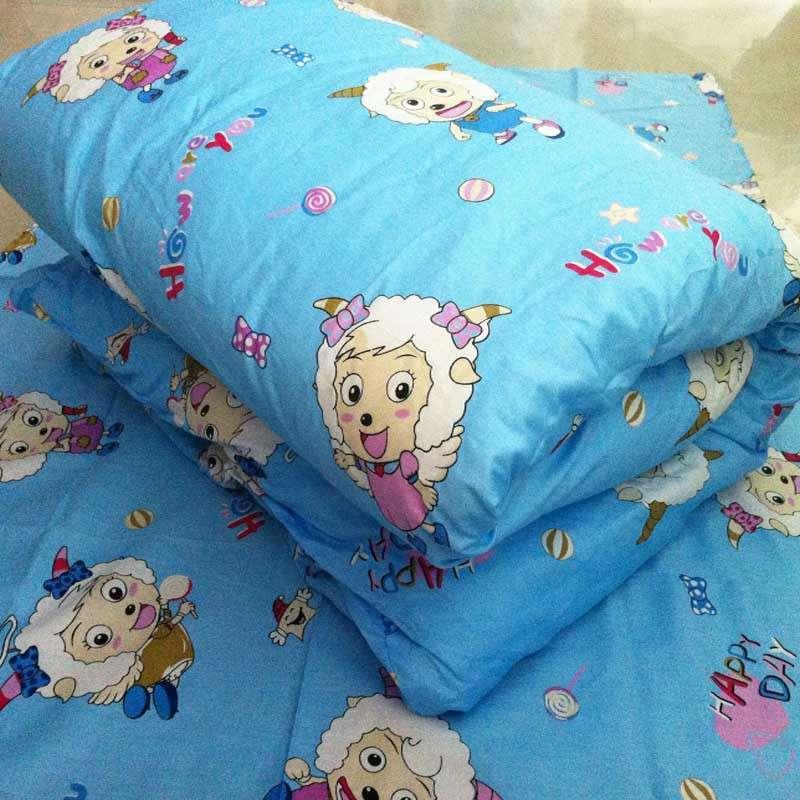 【思侬家纺】思侬家纺全棉婴儿床被套纯棉幼儿园床品