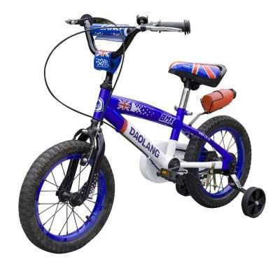 寸法拉利儿童车脚踏车   自行车   小金童刀浪 新款 儿童   高清图片