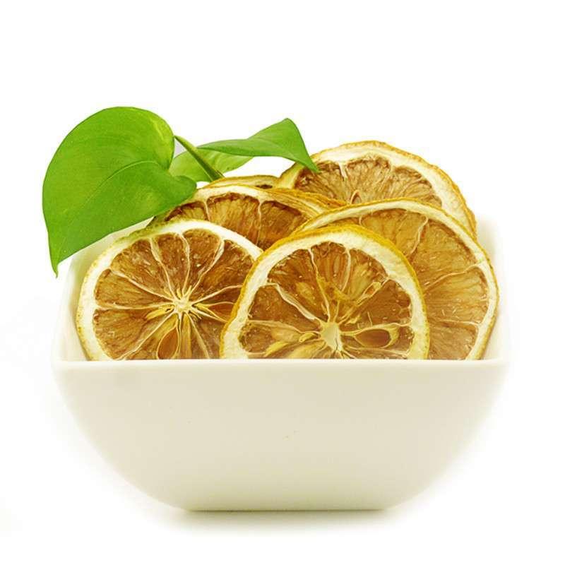柠檬片_热销花草茶100g非冻干柠檬片美白排毒花草茶