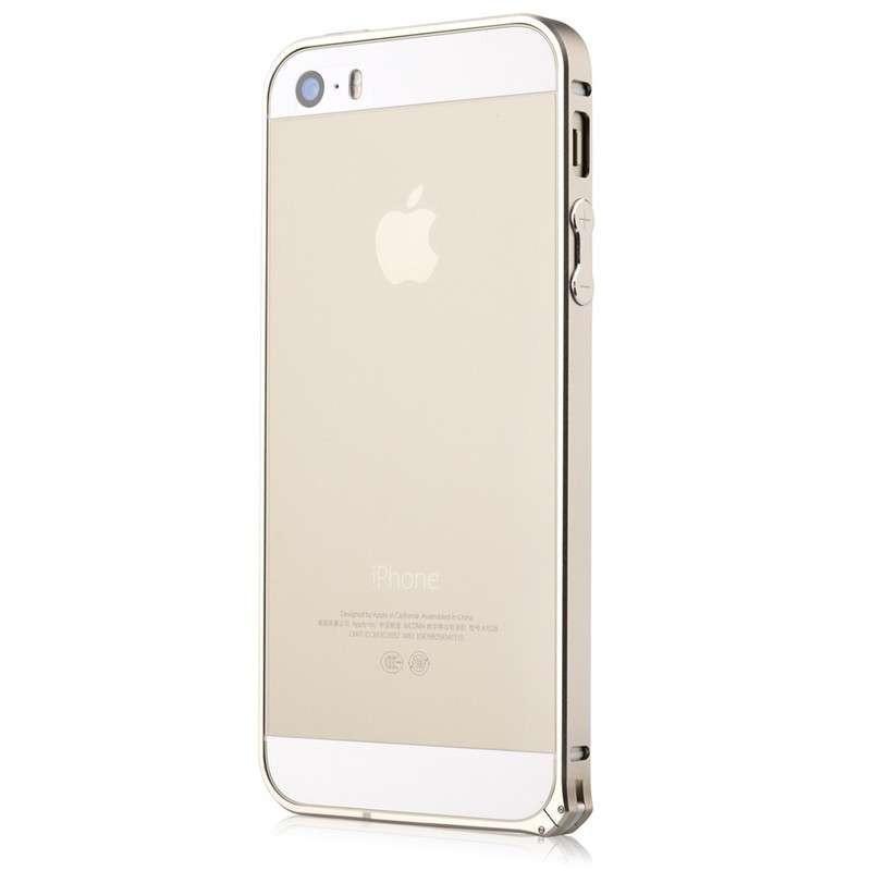 devia超薄金属边框(表扣版)苹果iphone5/5s 土豪金