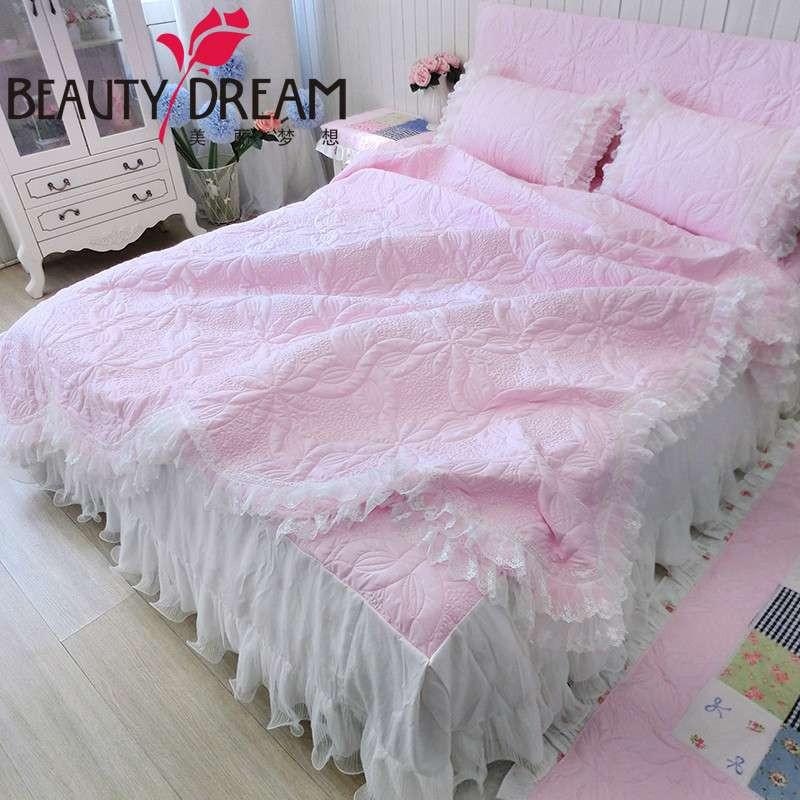 BeautyDream家纺绗缝夹棉夏凉被床上用品四件