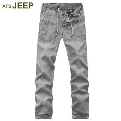jeep战地吉普2014春装新款休闲裤