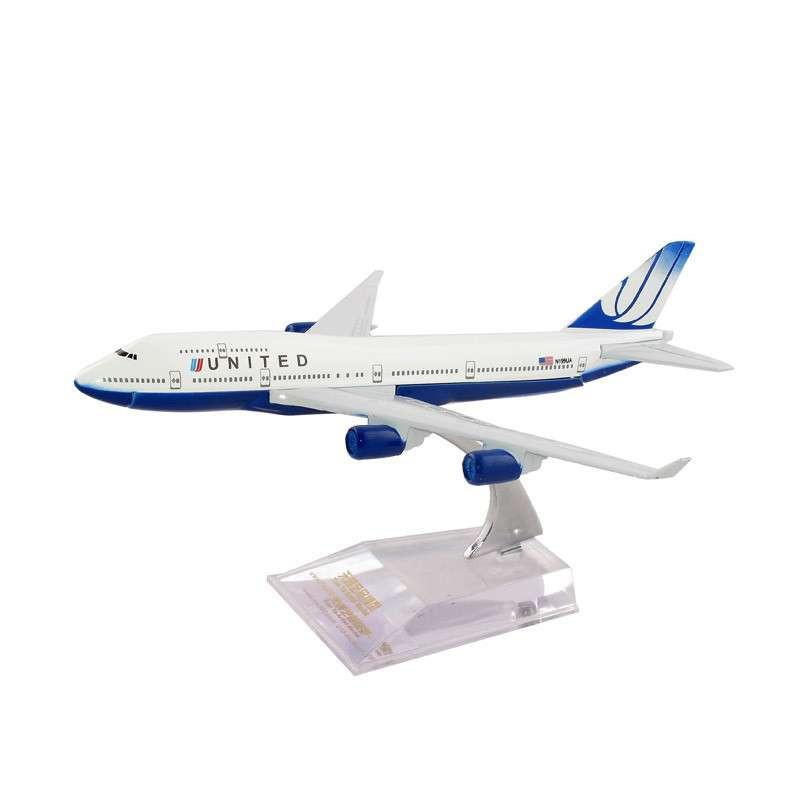 16cm小合金飞机模型(儿童玩具)-----b747