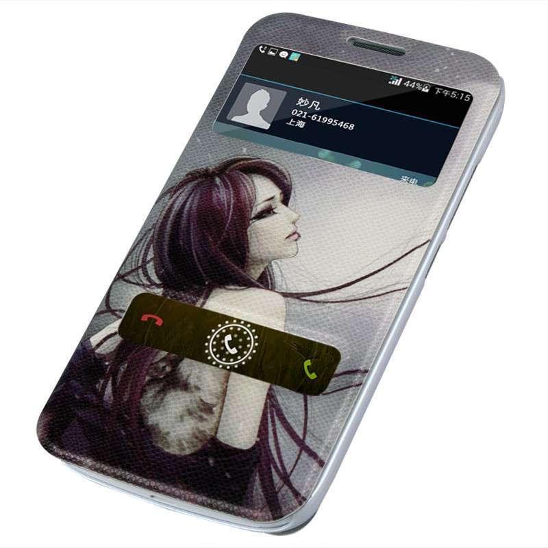 华为b199麦芒2手机彩绘保护套