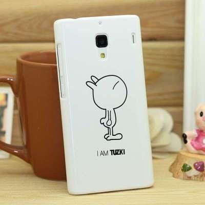 小米红米手机保护壳 卡通情侣是壳 红米兔斯基后壳 手机套 红米保护套