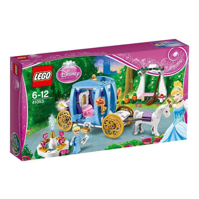 LEGO 乐高 灰姑娘的魔幻马车 L41053【报价、