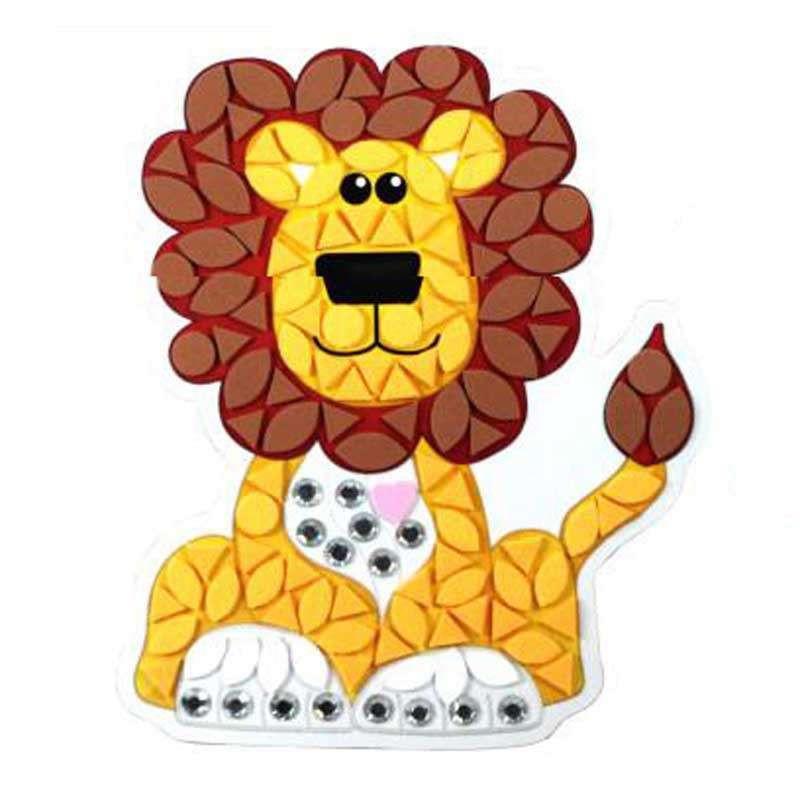 手工制作粘贴创意diy儿童益智玩具