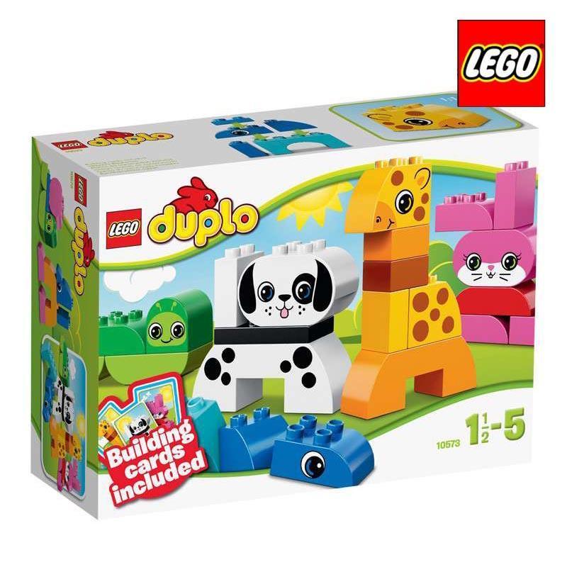 简单的乐趣:LEGO乐高得宝创意系列农村组16x12米图纸建房动物图片