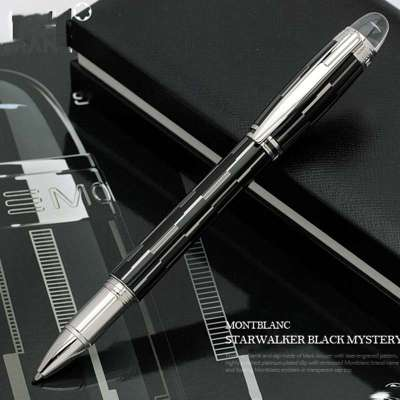 黑色水笔手抄报