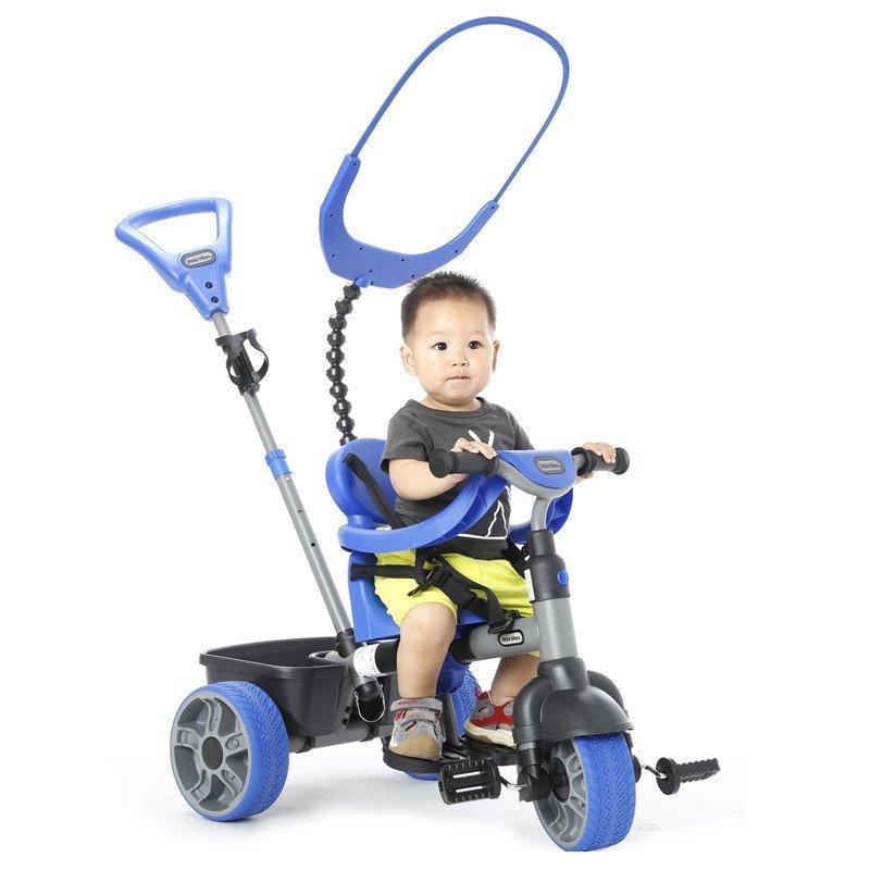 【】littletikes带斗儿童三轮车小泰克儿童脚踏学步