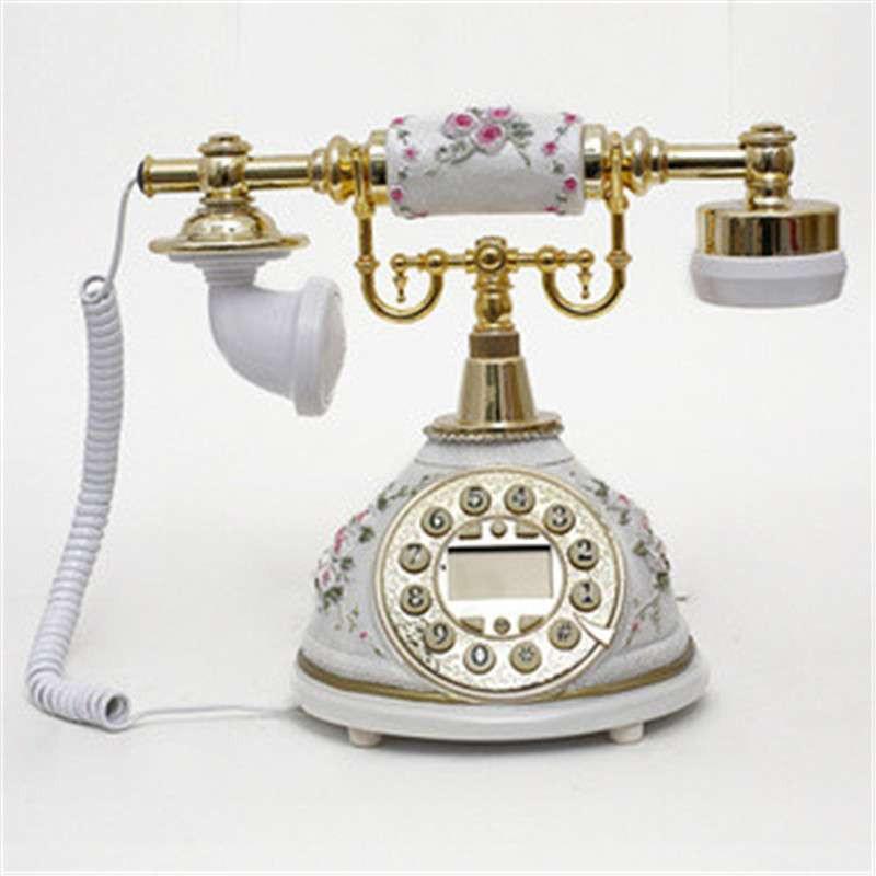 【mily隆威家居】仿古电话欧式复古电话机家用座机典