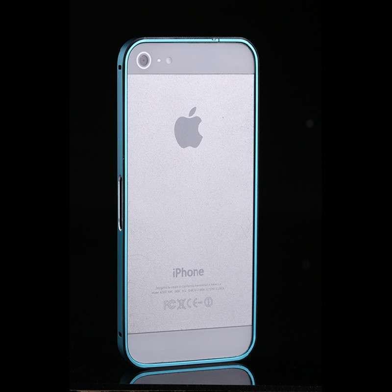 rago iphone5s手机壳 苹果5手机套 iphone5金属边框 5s手机套外壳 湖