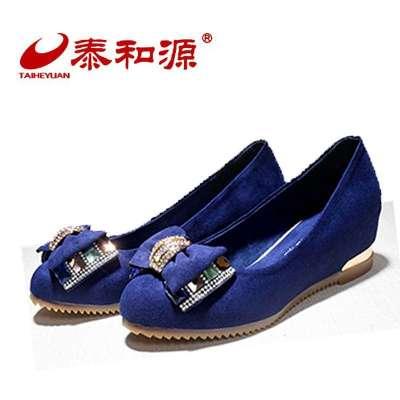 泰和源老北京布鞋 2014春夏季新款毛纺布透气时尚