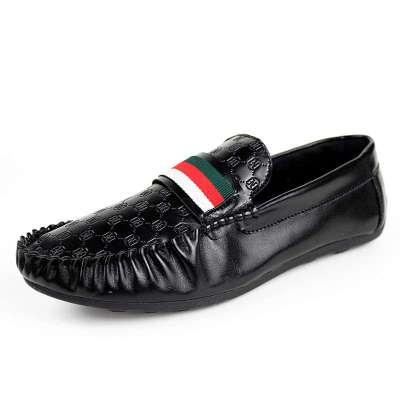 2014新款春夏时尚男士单鞋休闲皮鞋
