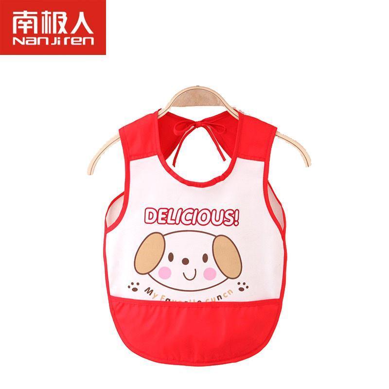 南极人童装2014新品婴儿宝宝可爱卡通口水巾儿童防水