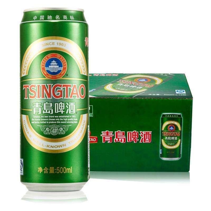 中酒网 啤酒 青岛啤酒经典听装 500ml*12瓶整箱装