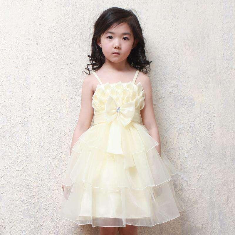 儿童礼服裙公主