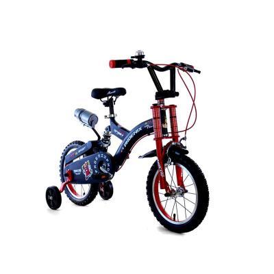 凤凰完美儿童自行车表演车小孩自行车减震山地车带轮