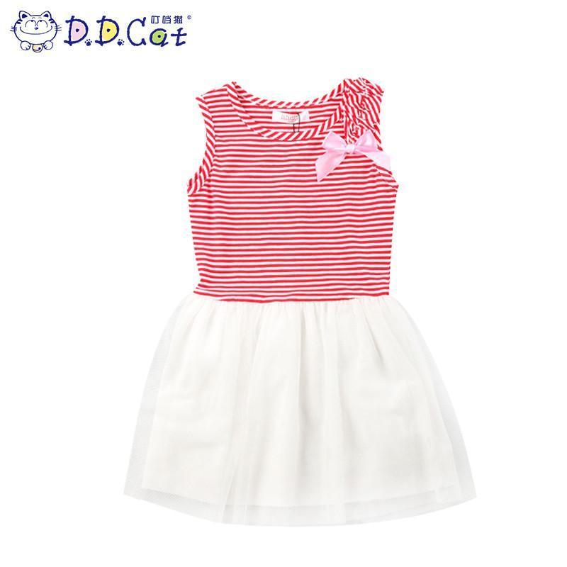 女童时尚夏装中大童儿童纯棉裙