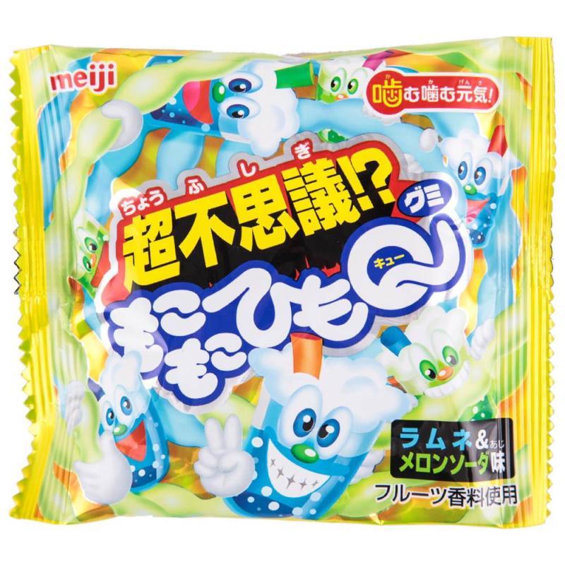 明治 日本 原装进口 休闲零食品 2味凝胶软糖果24g