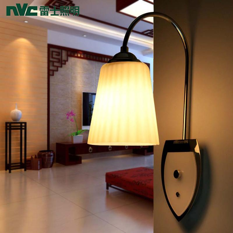 nvc/雷士照明 经典现代卧室壁灯 床头壁灯/玄关过道灯