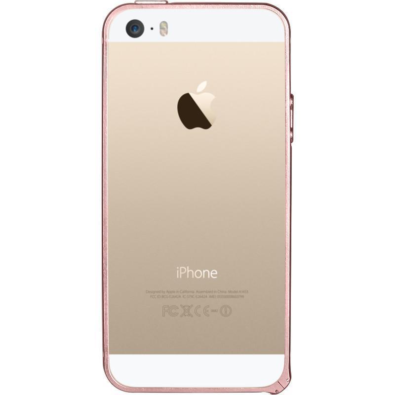 luoya络亚适用于苹果iphone5s手机壳套苹果5边框5s壳