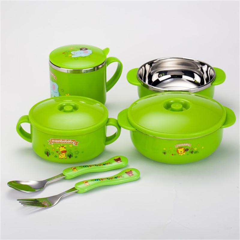 蔓葆儿童餐具不锈钢碗
